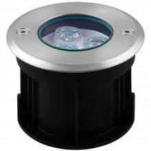 Тротуарный светодиодный светильник Feron SP4111 3LED теплый белый 3W 100*H80mm вн.ф 62mm IP67 32012