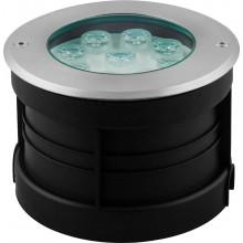 Тротуарный светодиодный светильник Feron SP4113 9LED RGB 9W 160*H90mm вн.ф 82mm IP67 32020