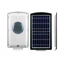 Светильник уличный на солнечной батарее Feron SP2333 36LED 5w + 2w 6000K алюминий, с датчиком движения IP65 32027