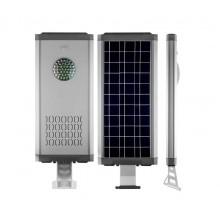 Светильник уличный на солнечной батарее Feron SP2335 16LED 12w + 4w 6000К алюминий, с датчиком движения IP65 32029