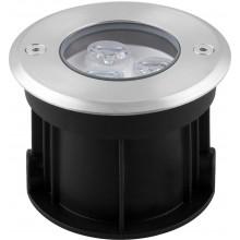 Тротуарный светодиодный светильник Feron SP4111 3LED зеленый 3W 100*H80мм IP67 (арт. 32111)