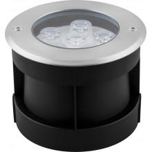 Тротуарный светодиодный светильник Feron SP4112 6LED зеленый 6W 120*H90мм IP67 (арт. 32112)