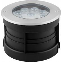 Тротуарный светодиодный светильник Feron SP4113 9LED зеленый 9W 160*H90мм IP67 (арт. 32113)