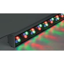Прожектор линейный светодиодный Feron LL-890 36LED RGB, 1000*85*65мм, 36W IP65 (арт. 32158)