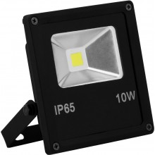 Прожектор светодиодный Saffit SFL70-10 10W 6400K IP65 132*113*40мм (арт. 55038)