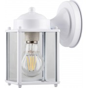Светильник садово-парковый Feron PL200 60W E27 230V, белый (арт. 11877)
