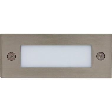 Светильник светодиодный для подсветки Feron LN201A 1w 5000К матовый хром 110*44 мм IP54 12000
