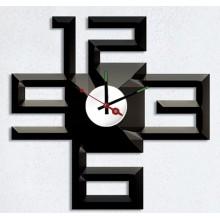 Декоративная наклейка с часами Feron NL25 1*AА батарея 23296