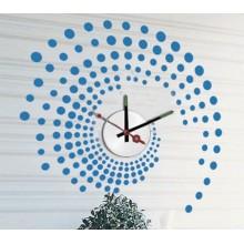 Декоративная наклейка с часами Feron NL26 1*AА батарея 23297