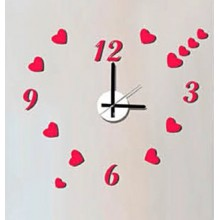 Часы-наклейка с маятником Feron NL37 23306