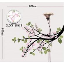 Часы-наклейка с циферблатом Feron NL19 1*AА батарея 23332