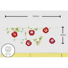 Ночник с наклейками на стену для 5 фоторамок Feron NL84 23334