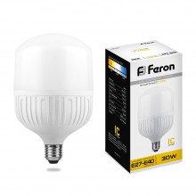 Лампа светодиодная Feron LB-65 E27-E40 30W 2700K (арт. 25888)