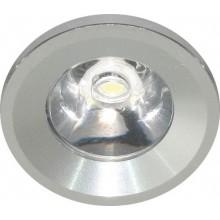 Светильник мебельный светодиодный Feron G770 1 LED 1 W серебро 6400К 27667