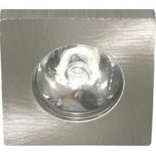 Светильник мебельный светодиодный Feron G771 1 LED 1 W серебро 6400К 27668