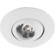 Светодиодный светильник Feron LN006 встраиваемый 1W 4000K белый поворотный (арт. 29581)