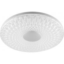 Светодиодный управляемый светильник накладной Feron AL5250 тарелка 100W 3000К-6500K матовый белый (арт. 29787)