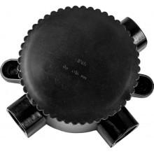 Монтажная электрическая коробка Feron КЭМ 2-660-3, 660V, 165х65х135, IP65 черный (арт. 29851)