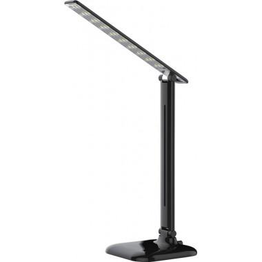 Настольная лампа светодиодная Feron DE1725 10W,100-240V, 4000К, черный (арт. 29860)