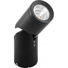 Светодиодный светильник Feron AL517 накладной 10W 4000K черный наклонный (арт. 29889)