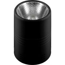 Светодиодный светильник Feron AL518 накладной 10W 4000K черный (арт. 29890)