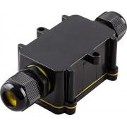Водонепроницаемая cоединительная коробка Feron LD522, 450V, 125x55x36, черный (арт. 32245)