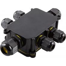 Водонепроницаемая cоединительная коробка Feron, LD526, 450V, 140х100х36, черный (арт. 32249)