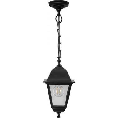 Светильник садово-парковый Feron НСУ 06-60-001 подвесной, 6-ти гранник 60W E27 230V, черный (арт. 32254)