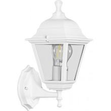 Светильник садово-парковый Feron НБУ 04-60-001, вверх/вниз, 4-х гранник 60W E27 230V, белый (арт. 32267)