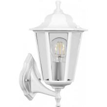 Светильник садово-парковый Feron НБУ 06-60-001 вверх/вниз, 6-ти гранник 60W E27 230V, белый (арт. 32268)