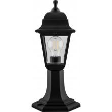 Светильник садово-парковый Feron НТУ 04-60-001 на постамент, 4-х гранник 60W E27 230V, черный (арт. 32271)