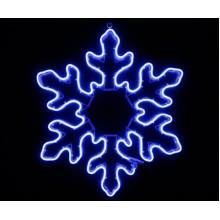 Световая фигура СНЕЖИНКА Flesi 70х70 см синий