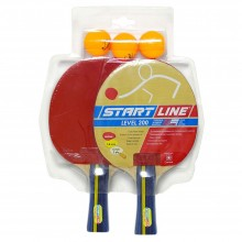 Набор теннисных ракеток Level 200 2шт, мячи club select 3шт 3380