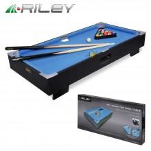 Бильярдный стол Riley пул 3фт с комплектом аксессуаров 86x42x15см 6469