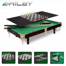 Бильярдный стол Riley русская пирамида 3фт 4 в 1 с комплектом аксессуаров 6831