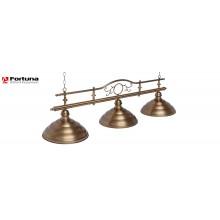Светильник для бильярдного стола Fortuna Modena Bronze Antique 3 плафона 8818