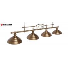 Светильник для бильярдного стола Fortuna Modena Bronze Antique 4 плафона 8819