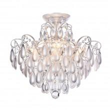 Люстра хрустальная Freya Chabrol FR2302CL-04S белое серебро