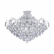 Люстра хрустальная Freya Chabrol FR2302CL-09S белое серебро