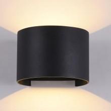 Архитектурный светильник Maytoni Fulton O573WL-L6B черный 6 Вт 3000К
