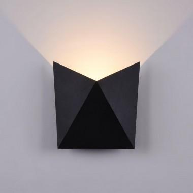 Архитектурный светильник Maytoni Beekman O802WL-L7B черный 7 Вт 3000К