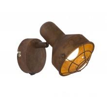 Спот Globo 54810-1 Tycho ржавчина LED E14 1*15W с выключателем