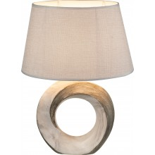 Настольная лампа Globo 21641T Jeremy коричневый/бежевый