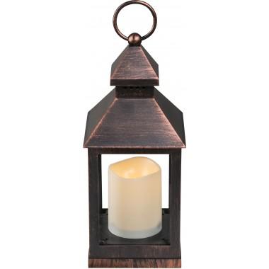 Настольная лампа декоративная Globo 28192-12 Fanal I медь LED 1*0,05W