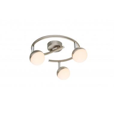 Светодиодный спот Globo 56201-3 Nempa матовый никель/белый LED 3*4,8W