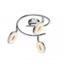 Светодиодный спот Globo 56121-3 Penelope хром/белый LED 3*4W
