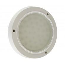 Светильник потолочный светодиодный Kink Light 08580 Сигма белый w-20,5*20,5 h-3,5 LED 8w (4500K)