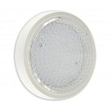 Светильник потолочный светодиодный Kink Light 08581 Сигма белый d-21 h-3,5 LED 8w (4500K)