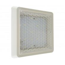 Светильник потолочный светодиодный Kink Light 08583 Сигма белый w-18,5*18,5 h-3,5 LED 8w (4500K)