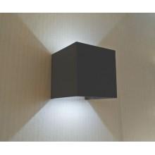 Светильник настенный светодиодный Kink Light 08585,16(4000K) Куб темно-серый w10x10 h10 Led 6w (4000K) IP65
